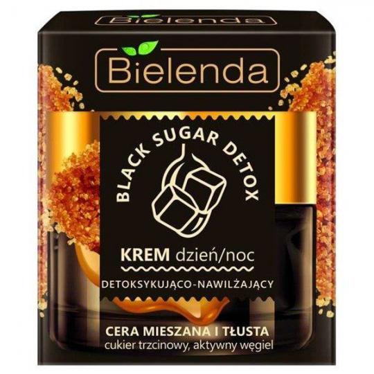 Bielenda Black Sugar Detox Krem detoksykująco-nawilżający na dzień i noc - 1