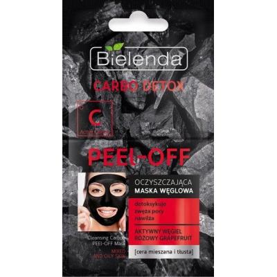 Bielenda Carbo Detox Czarny Węgiel Maska oczyszczająca peel-off - 1
