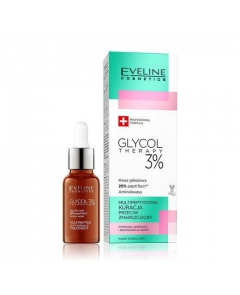EVELINE Glycol Therapy - multipeptydowa kuracja przeciw zmarszczkom 3% 18ml