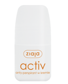 Ziaja antyperspirant activ w kremie roll on 60ml