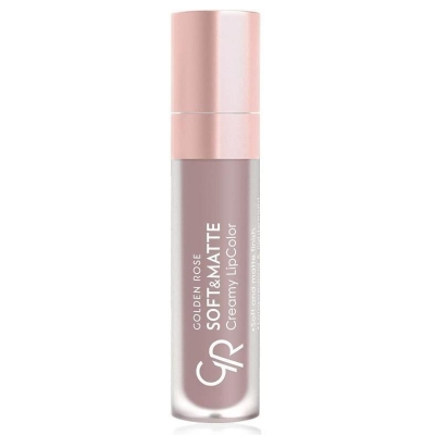 Golden Rose Soft & Matte Creamy Lip Color - matowa pomadka do ust 101 - 1