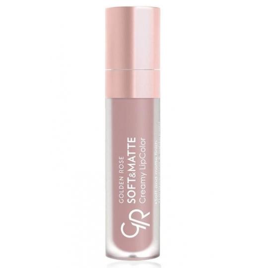 Golden Rose Soft & Matte Creamy Lip Color - matowa pomadka do ust 102 - 1