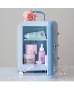 Fluff Lodówka kosmetyczna Niebieska - 5