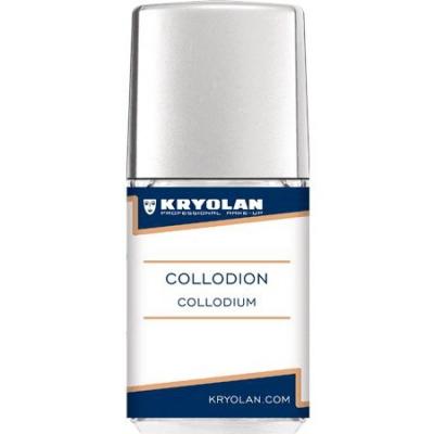 KRYOLAN COLLODION 11 ML - PŁYN DO ROBIENIA SZTUCZNYCH BLIZN - 1