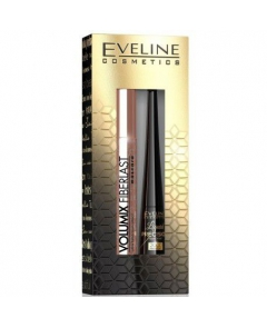 Eveline zestaw prezentowy tusz Fiberlast + eyeliner - 1
