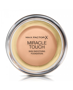 Max Factor Miracle Touch 045 Warm Almond - podkład 11,5g - 1