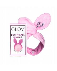 GLOV Bunny Ears opaska do włosów Pink
