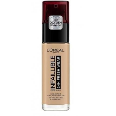 L'Oreal Infallible 24H FRESH WEAR 300 Amber - podkład 30ml - 1