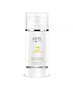 APIS Vitamin balance, Krem z witaminą C i winogronami, 100 ml