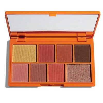 MAKEUP REVOLUTION ORANGE MINI CHOCOLATE cienie - 1