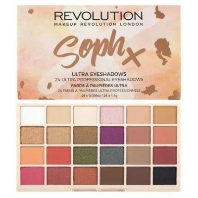 MAKEUP REVOLUTION SOPH X PALETA 24 CIENI DO POWIEK - 1