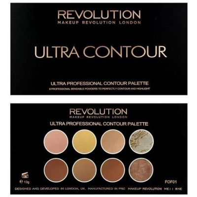 Makeup Revolution Ultra Contour Paleta do konturowania - 1