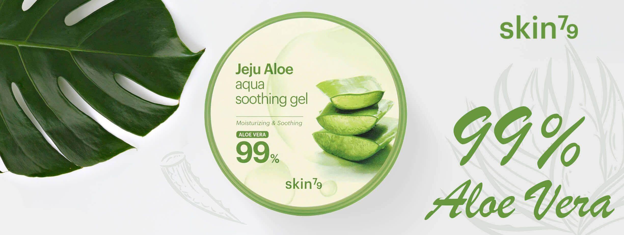 Skin79 aloesowy żel aloe soothing 99%